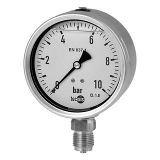 Hydraulik Manometer 100 mm 0-600 bar G 1/2 B unten