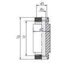 Einschweß-Schottverschraubung ESV30SOMD