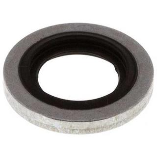 Usit-Ring 11,0 x 6,7 x 1,0; passend für Schraube M6; NBR80; Baustahl zinkchromatiert
