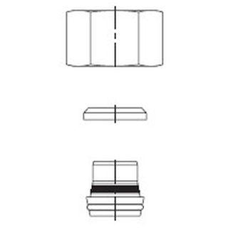 Bördelkegel BOE ETK S 16 x 3