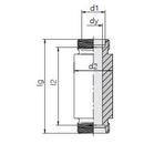 Einschweß-Schottverschraubung ESV42LOMD