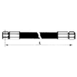 Hydraulikschlauch 4SH/DN32x600-DKOS38/DKOS38